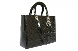 CHRISTIAN DIOR_LADY DIOR_BLACK