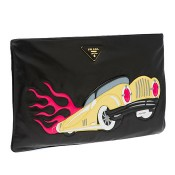 Prada NAPPA Leather Clutch Bag